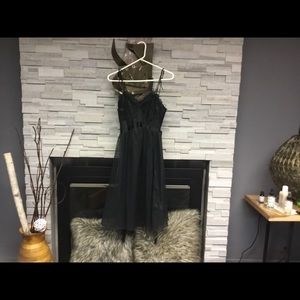 Sexy black slip dress must see this one 💃🏿